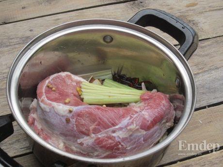 Cách làm bắp bò luộc ngũ vị không bị dai