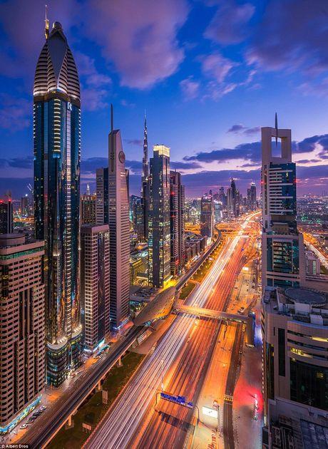 Choáng ngợp trước vẻ lộng lẫy của Dubai về đêm
