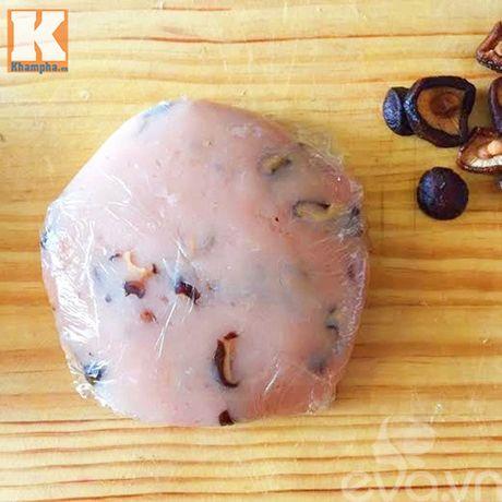 Chả gà nấm hương hấp dẫn cho dịp Tết