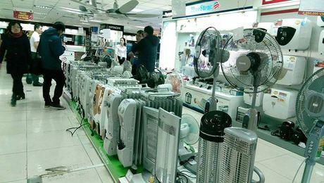 Trời rét đậm, thị trường thiết bị sưởi ấm hút khách