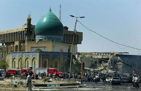 Đền thờ Hồi giáo ở Syria bị đánh bom, nhiều thương vong