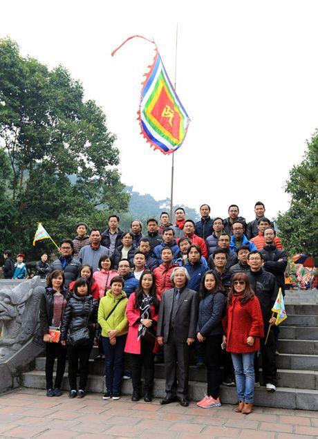 Báo Bóng đá hành hương về Côn Sơn - Kiếp Bạc