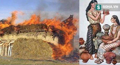 Bí ẩn nền văn minh có sở thích… tự đốt chính mình!