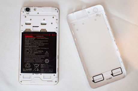 Tren tay Lenovo K5 Plus: Vo kim loai, gia hap dan - Anh 5