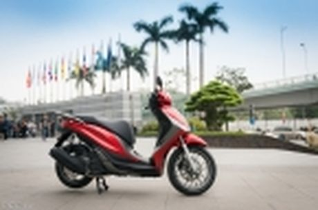 [Tren tay] Piaggio Medley ABS 125cc, thiet ke on, ABS 2 kenh, cop rong - Anh 20