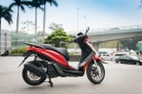 [Tren tay] Piaggio Medley ABS 125cc, thiet ke on, ABS 2 kenh, cop rong - Anh 22