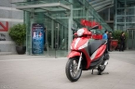 [Tren tay] Piaggio Medley ABS 125cc, thiet ke on, ABS 2 kenh, cop rong - Anh 44