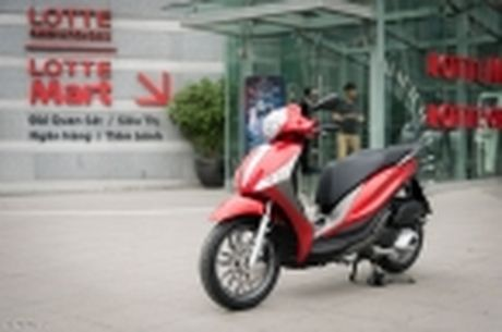 [Tren tay] Piaggio Medley ABS 125cc, thiet ke on, ABS 2 kenh, cop rong - Anh 46