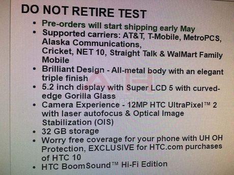 Tat tat thong tin ve HTC 10 truoc gio G - Anh 4