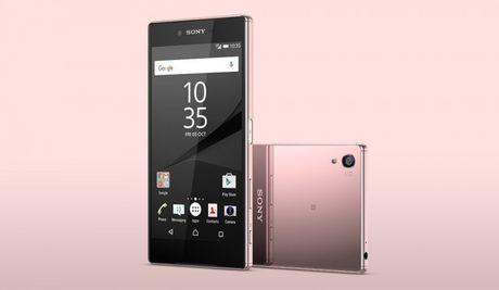 Sony chinh thuc ra mat smartphone Xperia Z5 Premium ban mau hong - Anh 2