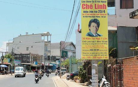 Đà Lạt: Live show ca sĩ Chế Linh bị phạt
