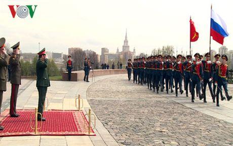 Tan Bo truong Quoc phong Viet Nam tham chinh thuc Nga - Anh 1