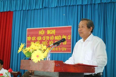 Pho Thu tuong Truong Hoa Binh: Tao dong luc manh me thuc day Long An phat trien - Anh 1