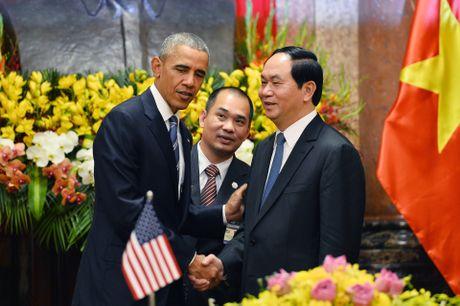 Tuong thuat ngay lam viec dau tien cua Obama tai Ha Noi - Anh 1