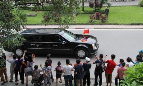 Tuong thuat ngay lam viec dau tien cua Obama tai Ha Noi - Anh 24