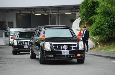 Tuong thuat ngay lam viec dau tien cua Obama tai Ha Noi - Anh 25