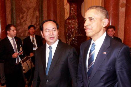 Tuong thuat ngay lam viec dau tien cua Obama tai Ha Noi - Anh 2