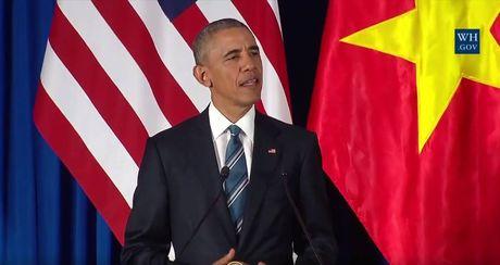 Tuong thuat ngay lam viec dau tien cua Obama tai Ha Noi - Anh 4