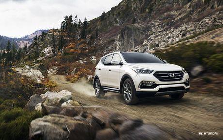 Hyundai Santa Fe Sport 2017 dat an toan cao nhat - Anh 1
