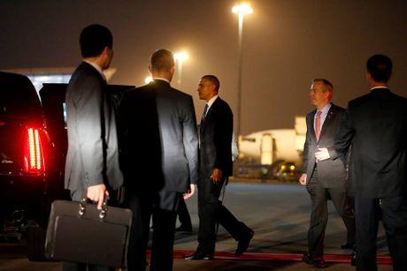 Nhung hinh anh dau tien cua Tong thong My Barack Obama tai TP.HCM - Anh 6