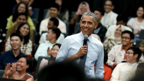 Tong thong Obama noi gi voi cac thu linh tre Viet Nam? - Anh 1