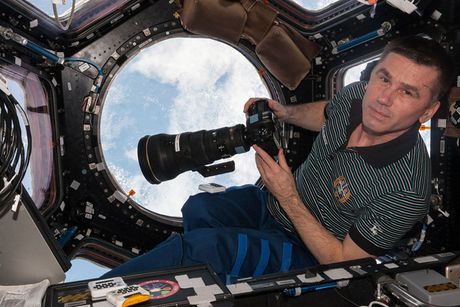 Hinh anh an tuong ve Trai Dat tu tram vu tru quoc te ISS - Anh 4