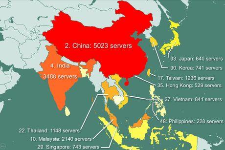 841 may chu tai Viet Nam bi hacker rao ban quyen truy cap - Anh 1