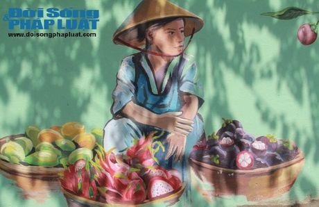 Độc đáo ngôi làng bích họa ở xứ Quảng