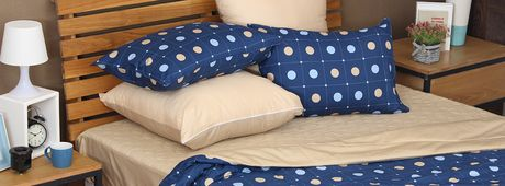 Chăn ga gối Cuscino tặng gối trang trí sofa cao cấp