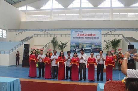 LDLD tinh Phu Yen: Khanh thanh nha thi dau da nang phuc vu CNVC-LD va nguoi dan - Anh 2