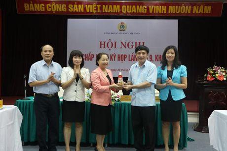 Du Hoi nghi BCH CD Vien chuc VN, Chu tich Tong LDLDVN Bui Van Cuong: Ky vong vao su doi moi - Anh 1