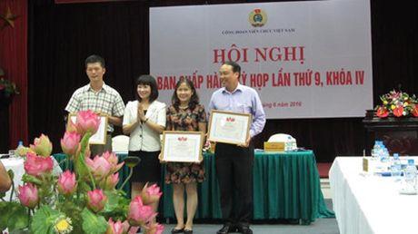 Du Hoi nghi BCH CD Vien chuc VN, Chu tich Tong LDLDVN Bui Van Cuong: Ky vong vao su doi moi - Anh 3