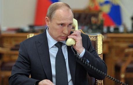 Lanh dao Nga – Phap – Duc dien dam ve Ukraine - Anh 1