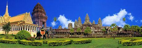 Campuchia: Lap ke hoach hut khach du lich Trung Quoc - Anh 1