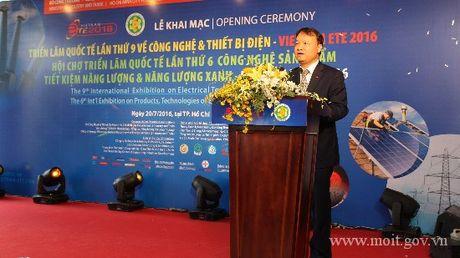 Khai mac Trien lam Quoc te Cong nghe & Thiet bi Dien - Vietnam ETE 2016 - Anh 1