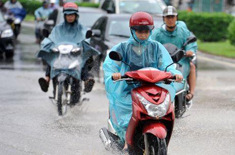 Tin thời tiết ngày 8/9: Mưa dông diện rộng, thời tiết mát mẻ nhiều nơi