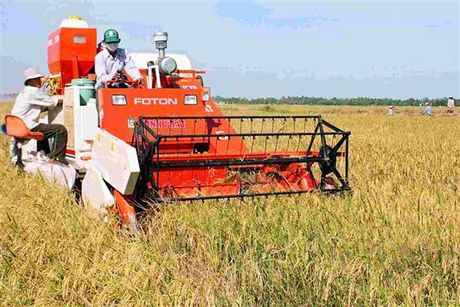 Èo uột cơ giới hóa trong nông nghiệp