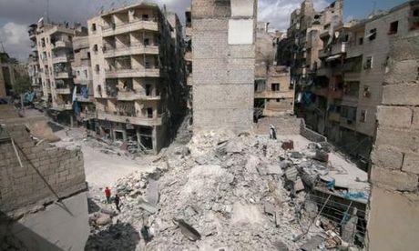 Syria vua doi them don thu cuc manh o Aleppo - Anh 1