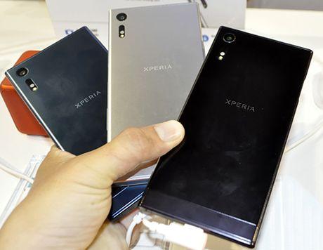 Sony Xperia XZ trinh lang: Diem nhan o bo doi camera - Anh 2