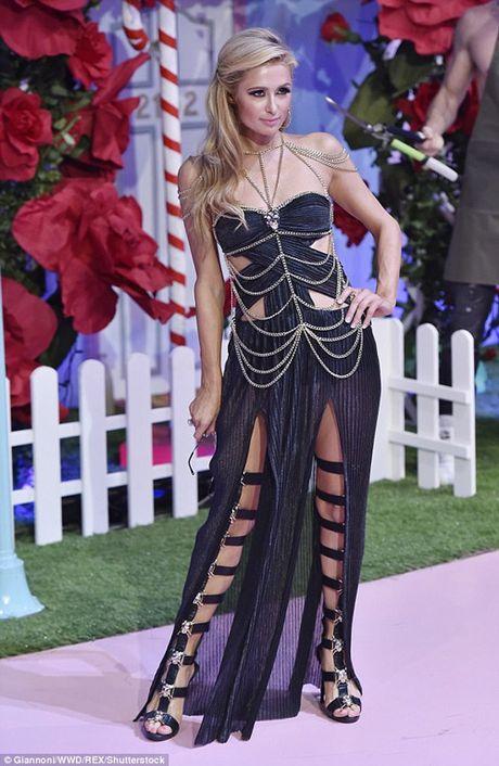 Ai nu ty phu Paris Hilton lo dang tho khi lam nguoi mau - Anh 6