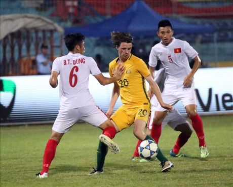 U19 Viet Nam tan mong gianh chuc vo dich giai U19 DNA 2016 - Anh 1