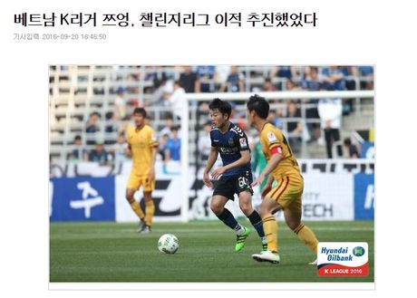 Chosun Sport khang dinh vu cho muon Xuan Truong do be vi HAGL - Anh 1