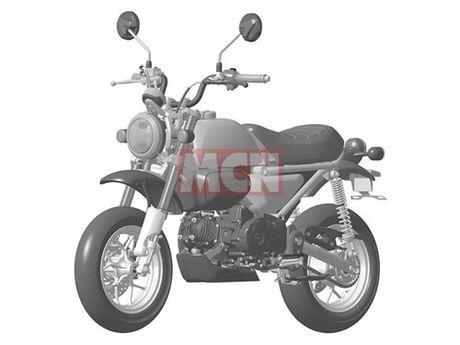 """""""Xe khi"""" Honda Monkey sap hoi sinh voi ban 125 cc - Anh 1"""