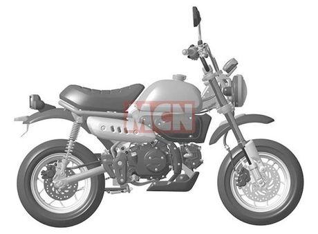 """""""Xe khi"""" Honda Monkey sap hoi sinh voi ban 125 cc - Anh 2"""