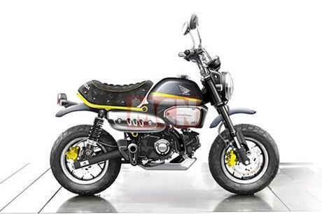 """""""Xe khi"""" Honda Monkey sap hoi sinh voi ban 125 cc - Anh 6"""