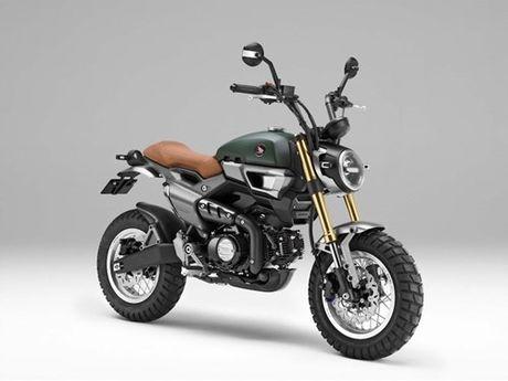 """""""Xe khi"""" Honda Monkey sap hoi sinh voi ban 125 cc - Anh 7"""