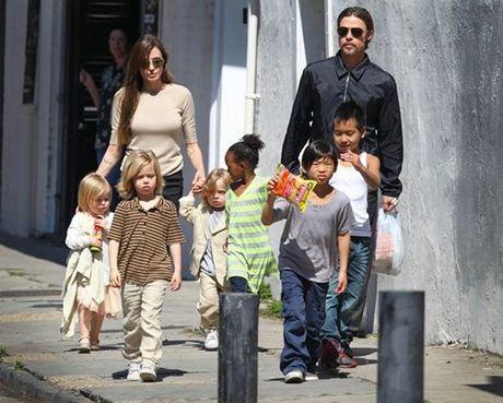 Brad Pitt mat ngu vi so Angelina Jolie cam gap con - Anh 2