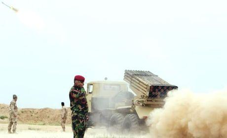 Quan doi Iraq mo duong den Mosul - Anh 1