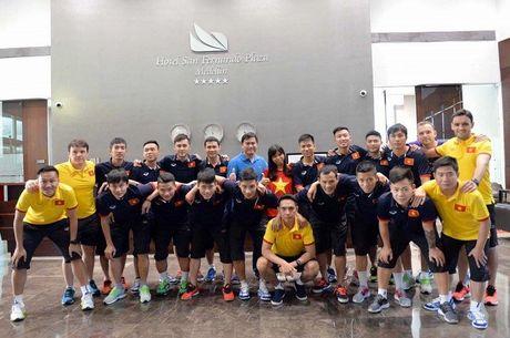 Tuyen futsal ve toi Viet Nam - Anh 1