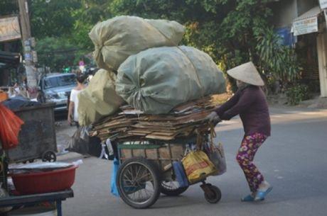 "Nghia tinh phan ""dan ba"" tha huong muu sinh nghe ve chai - Anh 1"